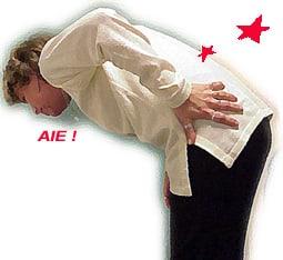 Le spasme musculaire dans le service de poitrine et le dos