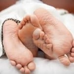 pieds lit