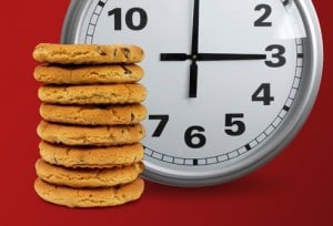 getty_rf_photo_of_cookies_and_clock.