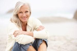 belle femme de soixante ans