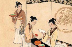 tableau illustrant la diétetique chinoise