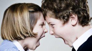 disputes entre enfants frères et soeurs