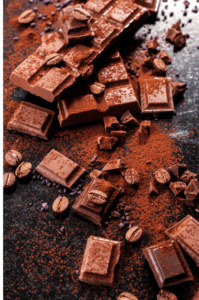 chocolat noir bon pour les dents